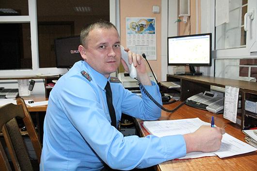 Сергей Анатольевич Ермоленко, старший оперативный дежурный, майор милиции