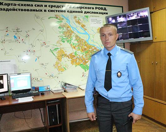 милиционер-водитель Денис Сергеевич Корж
