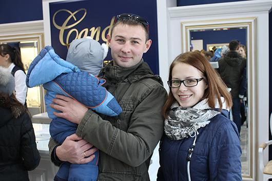 Александр и Ирина Шваб со своим сыночком Ярославом