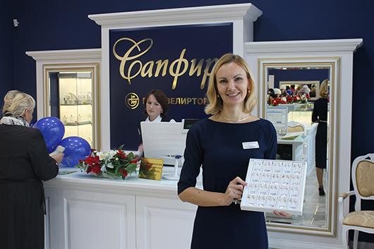 Оксана Кислова, зав.магазином: «Искренне рады видеть вас в нашем обновленном магазине!