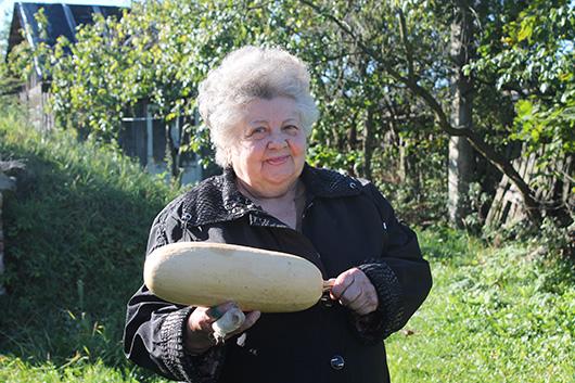 Вера Степановна Липская, д.Белая Мозырского района