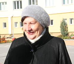 Мария Васильевна, пенсионерка