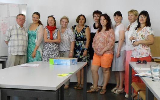 Ирина Журлова – пятая справа.