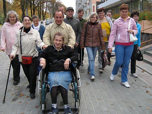 отделение дневного пребывания для инвалидов Мозырского ТЦСОН