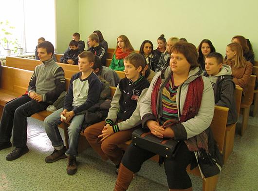 школьники в мозырском суде