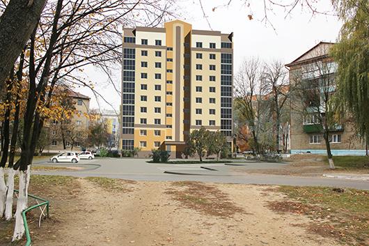 проект 40-квартирного жилого КПД по ул. Пролетарской в г. Мозыре