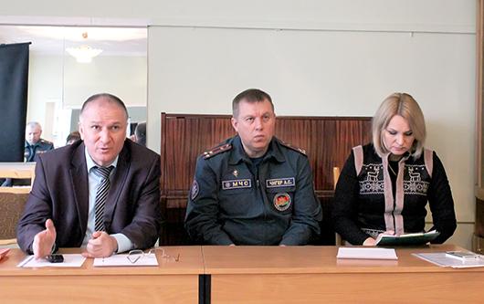 Заседание рабочей группы Мозырского райисполкома в микрорайоне Восточный