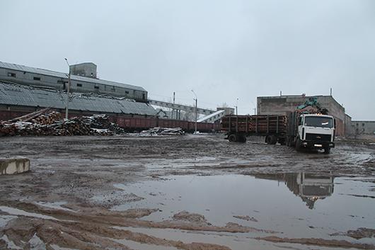 участок по погрузке вагонов