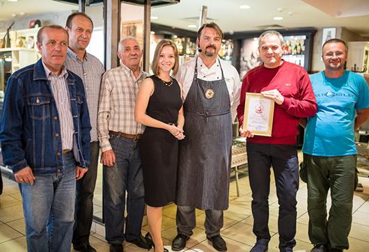 Результат презентации оборудования «МультиГриль» --  сертификат качества от «Гильдии поваров и шеф-поваров Беларуси» на выпускаемые модели.