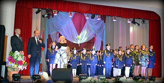 кадеты СШ № 15 г. Мозыря