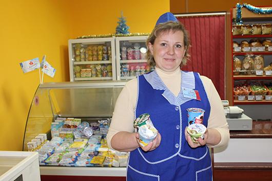 """Продавец Наталья Ивановна Ярош: """"Нам всегда есть что предложить самому взыскательному покупателю.  Только у нас постоянные акции, скидки, приятные  сюрпризы. Добро пожаловать!"""""""