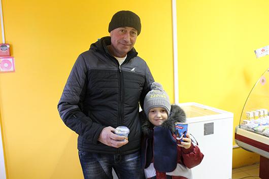 Анатолий Александрович Ситник и его внук Евгений Цыганок