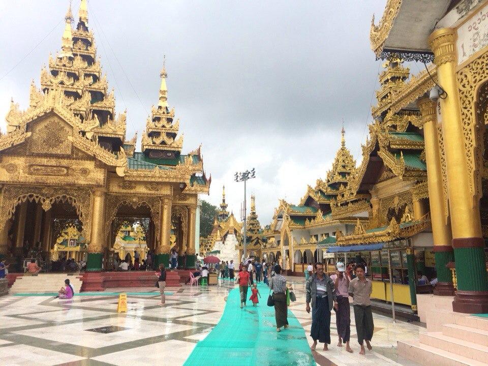 Мьянма красивая