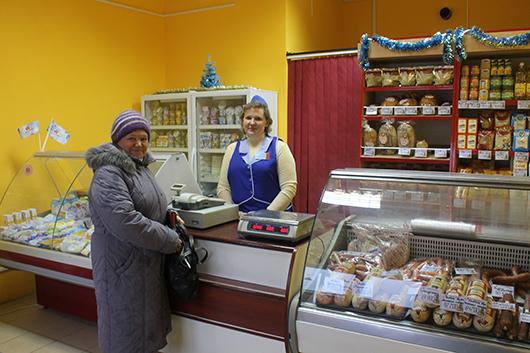 """В магазине """"Калинка"""" (Мозырь, рынок """"ИстПал"""")"""