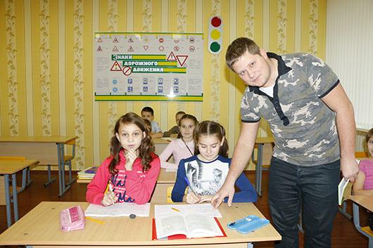 Урок белорусского языка у гомельских учеников.  Иметь комфортные, достойные условия не только  для отдыха, но и для обучения очень важно, ведь тысячи детей области ежегодно выезжают на оздоровление  в учебное время.