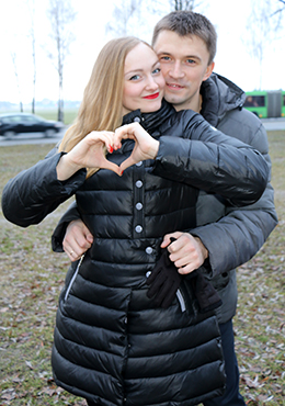 Катя и Сергей Кругловы