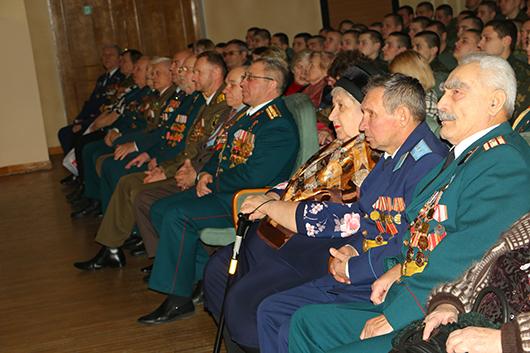 Торжественный вечер, посвященный Дню защитников Отечества, в Мозырском ГДК