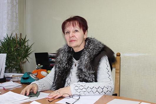 Начальник отдела правовой и  кадровой работы Наталья Сенкевич.