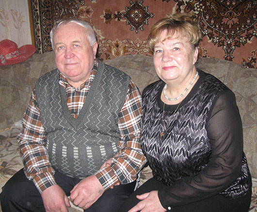 Сергей и Тамара Шоба