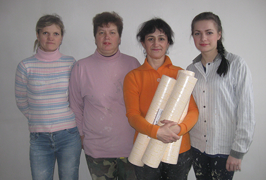 Любовь Дубовец, Оксана Манько, Валентина Степанец, Надежда Негрова: молодость, опыт, хорошее настроение.