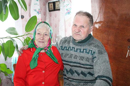 Григорий Федорович Мисько со своей супругой Ниной Емельяновной