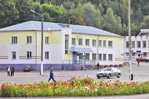 пл. Горького, Мозырь