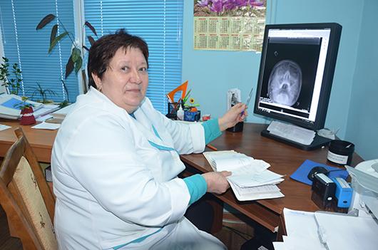 Галина Ивановна Заворохина, врач-рентгенолог.