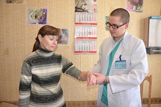 Леонид Григорьевич Предченко, врач-травматолог.