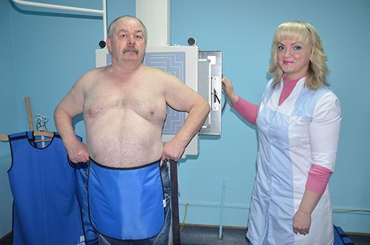 Светлана Владимировна Захурдаева, лаборант рентгенологического кабинета.