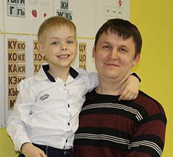 Сергей и Георгий Шумак.