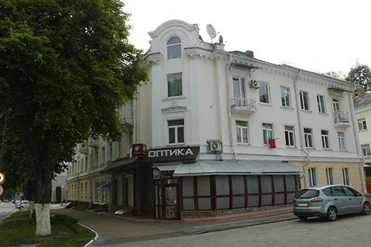 Магазин Оптика по улице Ленинской (Мозырь)