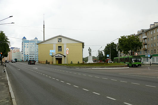Улица Рыжкова (Мозырь)1