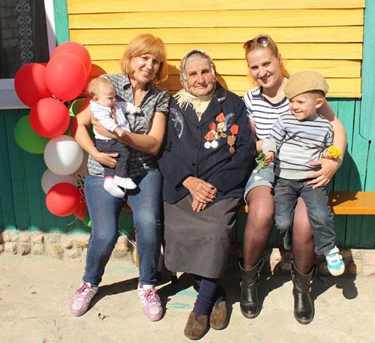 До последнего дня жизни О.Ф.Сикиринова была окружена заботой и любовью родных.