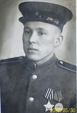 Андрей Иванович Левковец. 1945 год.