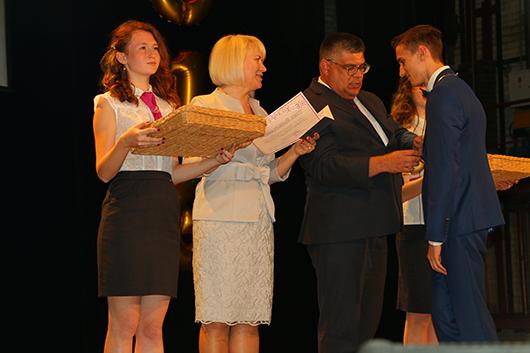 Выпускной-2016 в лицее Мозыря