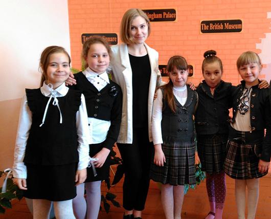 Валерия Морозевич с учениками1