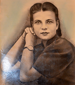 Мария Антоновна за несколько месяцев до начала войны.