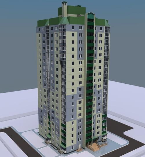 19-этажный дом для Минска.