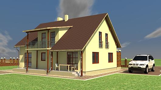 Проект индивидуального жилья от ДСК.