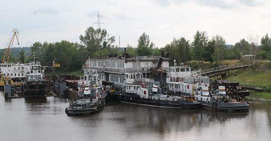 Мозырский порт