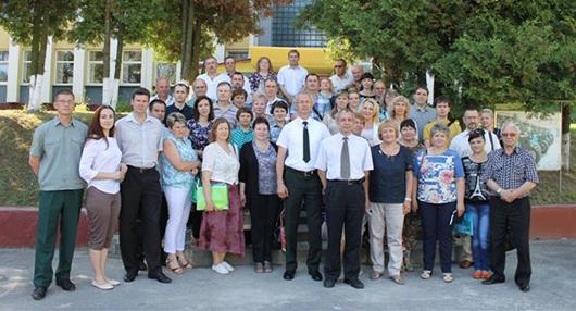 участники семинара лесхоз