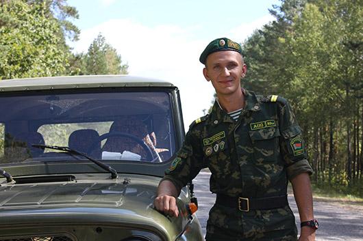 """Младший сержант В.Ю.Тишкевич: """"Служба в погранотряде в корне изменила мои взгляды на жизнь""""."""