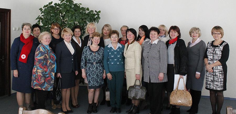Актив Мозырского союза женщин