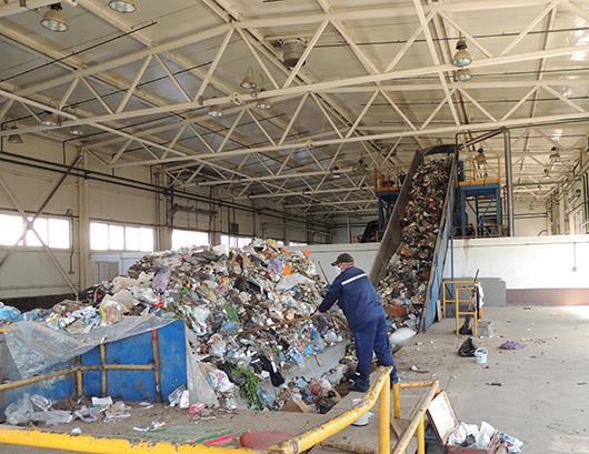 Мозырская станция по сортировке твердых коммунальных отходов