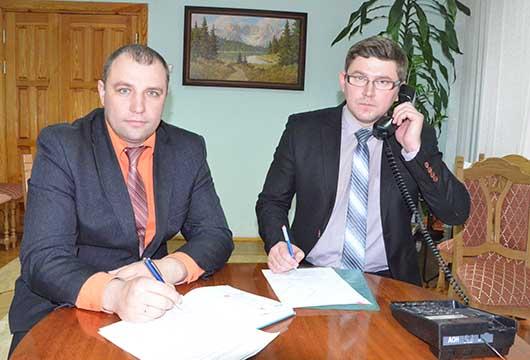 Максим Киселев и Евгений Рихтиков