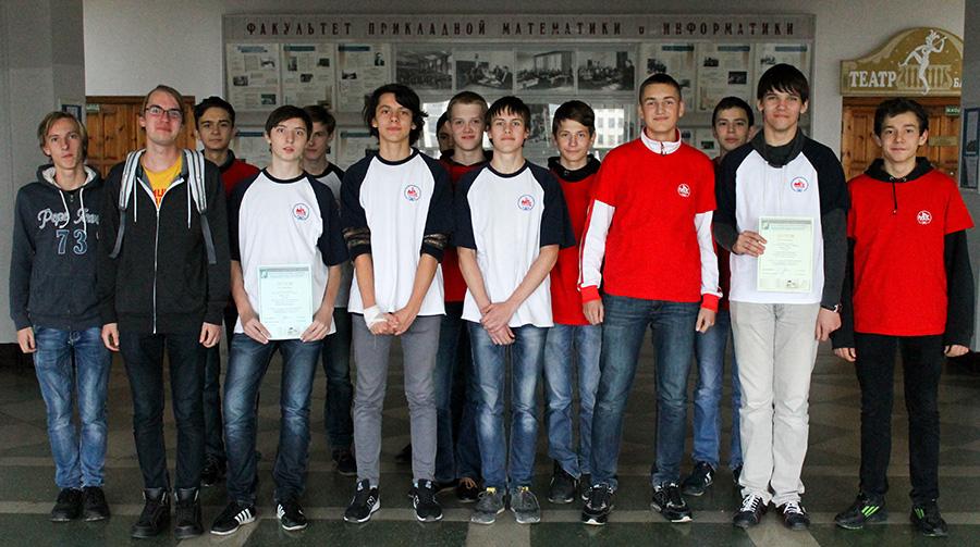 Студенты-выпускники и школьные команды КЮП