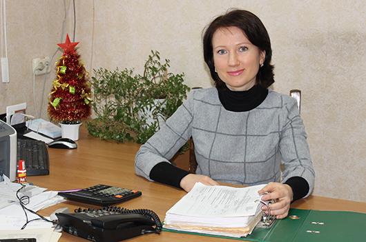 Главный бухгалтер Елена Васильевна Бакун.