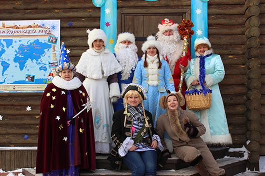 Новый год в «Мозырском замке»