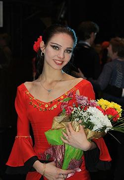 Мозырянка Александра Чижик — прима-балерина Большого театра оперы и балета Республики Беларусь