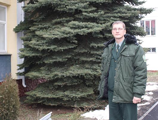 Зимние заботы лесоводов Мозыря